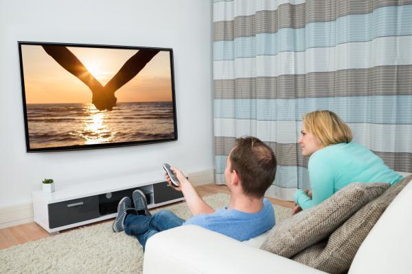 installation d'une télévision